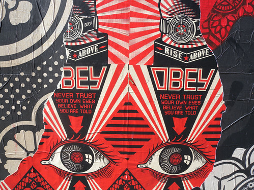 Shepard Fairey at Ace Hotel New York - Detail