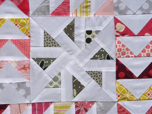 Paper Pieced Center Detail
