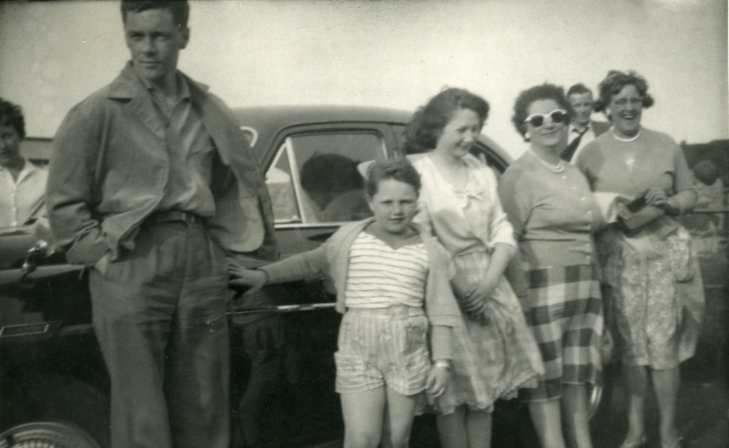 Jean Mellon, Family Group 1950s