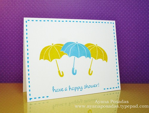 One Layer- LawnFawn Umbrellas (2)