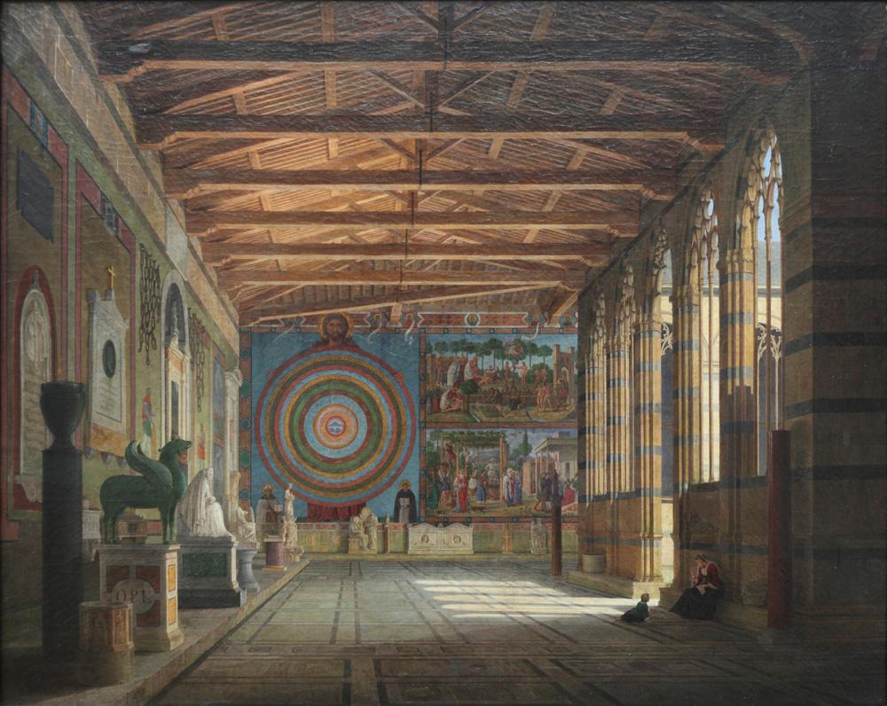 Leo von Klenze, Der Camposanto in Pisa, 1858