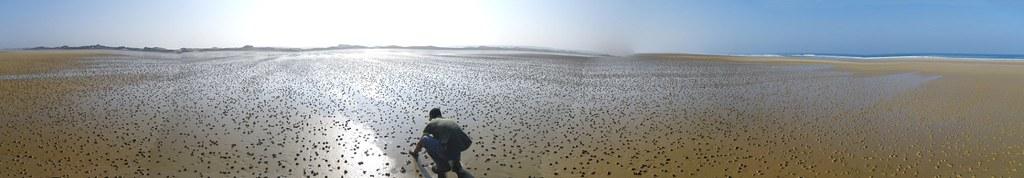 Panorama plage baubigny
