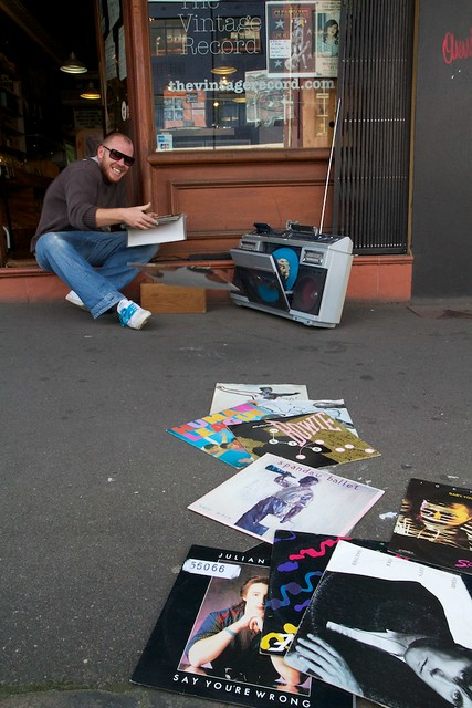 Record Stores Sydney - The Vintage Record