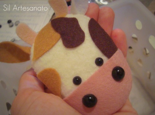 Cute Little Cow by Sil Artesanato