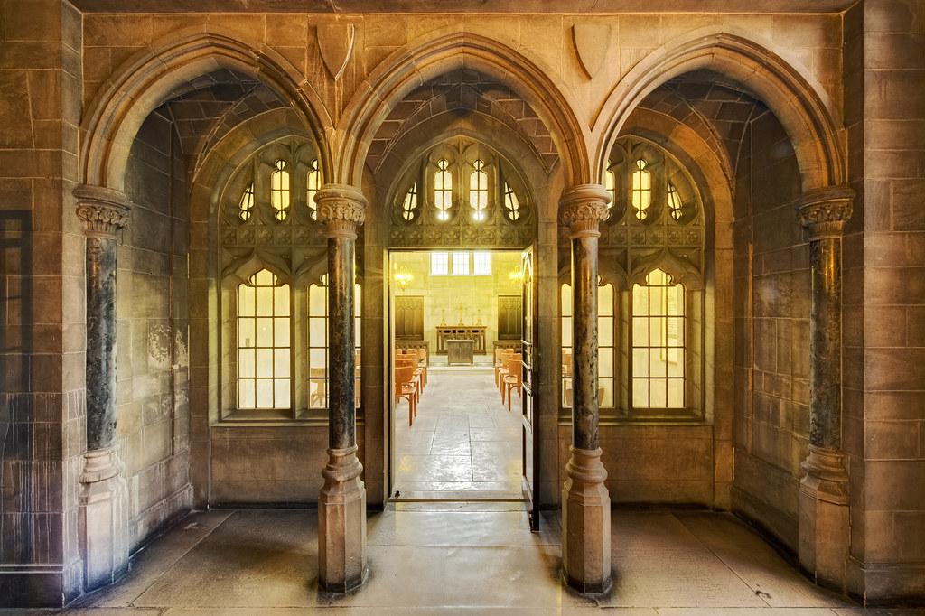 The Chapel Entrance (Enfuse)