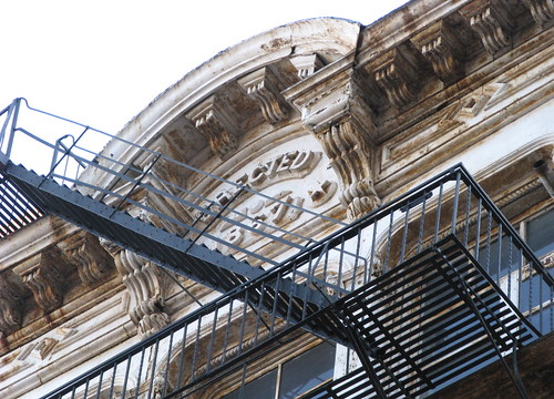 54 Lispenard Street - Cornice and Inscription