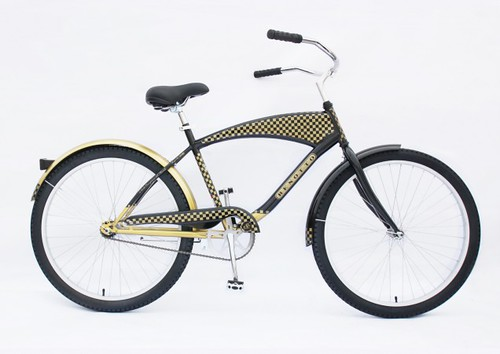 Black and Gold - Bike from Benottobicycle