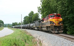 Syrup Cans (wras23) Tags: city southern missouri kansas kcs 4038 sd70ace lanagan