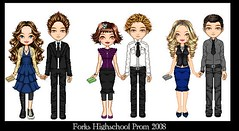 Twilight- Forks Prom! ^_^ (hvyilnr) Tags: twilight jasper alice edward prom bella emmett mania rosalie dollz