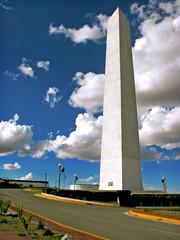Sacramento, Chihuahua (Silent.'.Music.'.Photo.'.) Tags: chihuahua clouds mexico texas egypt battle elpaso revolution revolutionary panchovilla obelisque silentmusicphoto caleblara