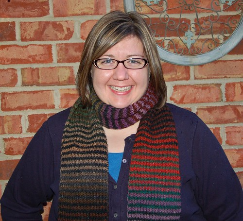 Noro Two Row Scarf