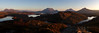 Inverpolly Panorama - Suilven, Cul Mor, Cul Beag and Stac Pollaidh. (freeskiing) Tags: trees winter sunset cloud mountains water scotland highlands rocks december heather panoramic loch westcoast gloaming ullapool stacpollaidh suilven culmor inverpolly highlandsofscotland culbeg benthorburn westhighlandsgeopark