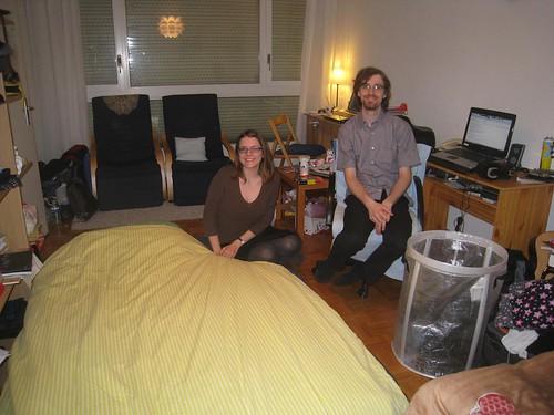 My Geneva couchsurfing hosts
