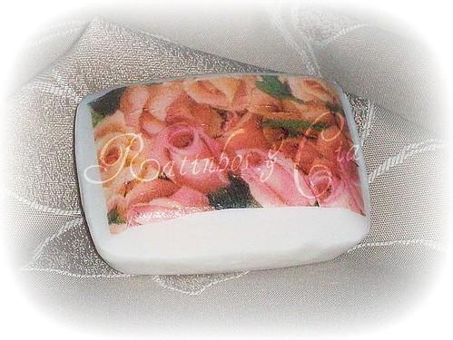 Rose såpe by you.