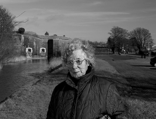 Sheila, Dog Walker, At Fort Brockhurst. 21 of 365.