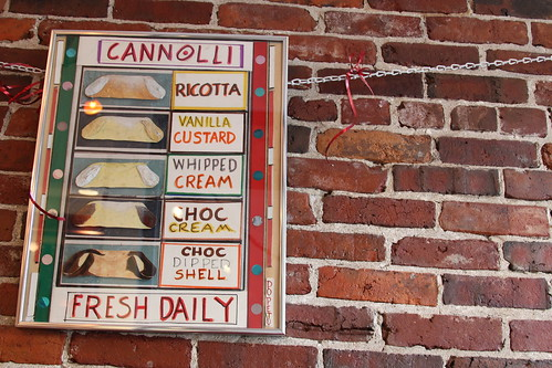 Cannolli chart at the Modern