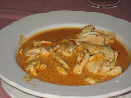 Thai Curry Chicken at Bangkok Oriental
