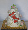 Tattoo Wedding (Betty´s Sugar Dreams) Tags: cake tattoo ed weddingcake hamburg hochzeitstorte hardy torte totenkopf torten schwalben hochzeitstorten edhardy betty´ssugardreams tortendekoration sugardreams sugardreamsde bettinaschliephakeburchardt bettyssugardreams wwwsugardreamsde tortendekoartion tortendesign tstorte