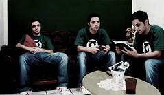 # Tri-Gemeos ? (Carlos Fachini ™) Tags: verde green photoshop manipulation tri gemeos manipulação