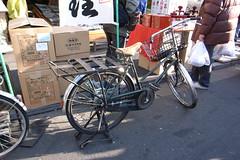Freight bicycle (delta16v) Tags: fish bicycle japan tokyo market tsukiji 東京 築地 freight