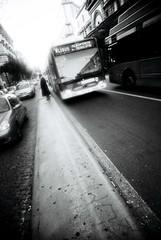 - (spice_) Tags: road travel bw italy bus film eu