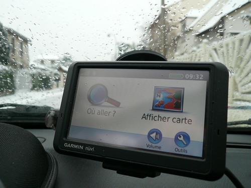 Garmin 765 - Snow/Neige !