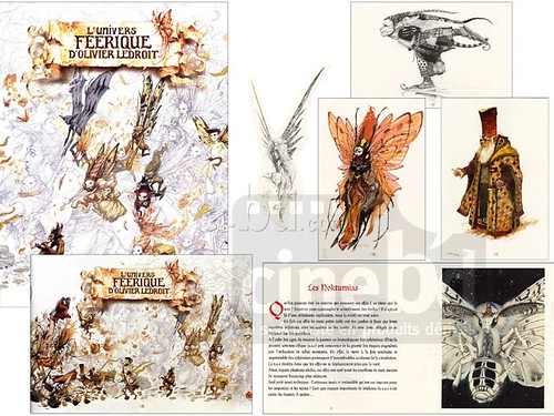 pages from Olivier Ledroit artbook
