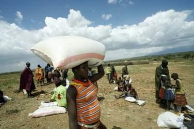 Drought in Karamoja - Uganda