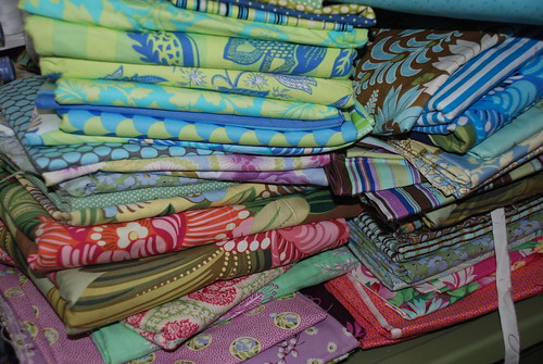 Yards and Yards of Amy Butler Fabrics by you.
