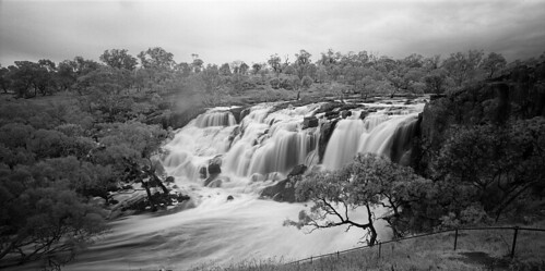 Nigretta Falls in Flood