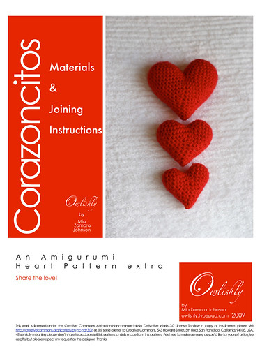 Corazoncitos materials and joining instructions page 1