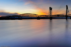 Sunset I-5 Bridge Valentines Day 2009 (dedge555) Tags: longexposure bridge sunset oregon river delete9 delete5 delete2 washington nikon delete6 delete7 save3 delete8 delete3 save7 save8 columbia delete delete4 save save2 save9 save4 columbiariver save5 save10 nikkor save6 soe 15seconds 2470mm i5bridge interstatebridge portlandbridge colorphotoaward d700 nikond700 2470mmf28g winter2009 afsnikkor2470mmf28ged absolutelystunningscapes varinduo
