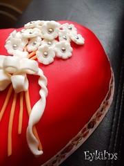 Kırmızı Kalp Pasta..