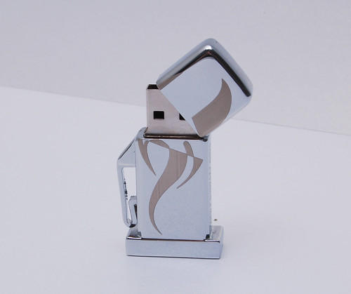 USB Flash Drive in the shape of a petrol/gasoline pumping station