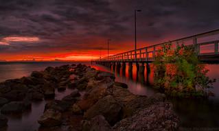 Under the Boardwalk.........