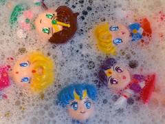 Sailors bubbles (rosaperfecto) Tags: anime japan toy doll manga plastic sailormoon