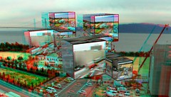 3D anaglyph-floating Akashi-aa