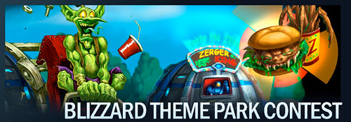 blizzard theme park contest