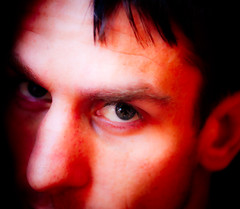 Scotopic Vision (CarbonNYC [in SF!]) Tags: portrait selfportrait me self highcontrast fromabove vignette contrasts vignetted contrasty helicoptershot carbonnyc carbonnycme carbonsf