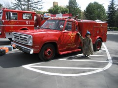 Emergency! Squad 51 (Fire Trucks 4 Hire) Tags: california winter southern convention dodge chassis pomona emergency chapter d300 fairplex dualie squad51 spaamfaa