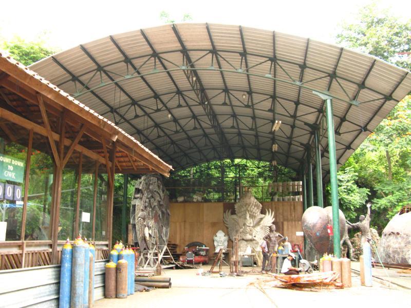 NuArt Sculpture Park Bandung Paris van Java Indonesia