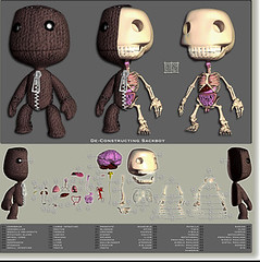 LittleBigPlanet Deconstructing SackBoy (PlayStation.Blog) Tags: sony ps3 playstation3 lbp mediamolecule littlebigplanet