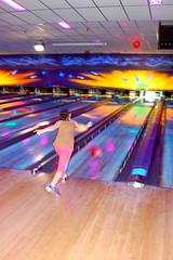 Cosmic bowling at Flickr.com