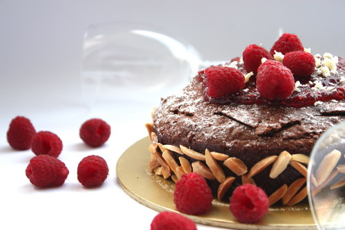 Chocolat_raspberry_cake
