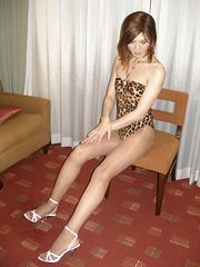 Leopard swimsuit_10 (Kyoko Matsushita) Tags: stockings asian tv legs cd crossdressing tgirl leopard transvestite swimsuit pantyhose crossdresser kyoko matsushita bathingsuit swimwear baador maillot badeanzug schwimmanzug