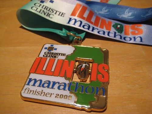 Marathon finisher medal