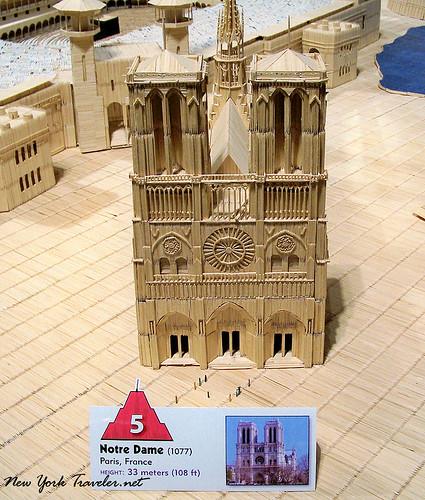 Notre Dame toothpicks