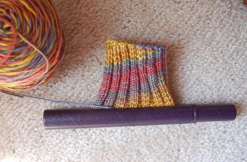 WIP: Cockamamie socks