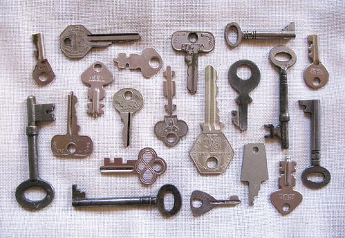 ornate keys