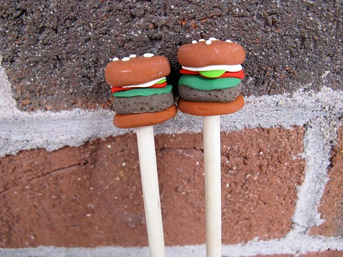 Burger Knitting Needles